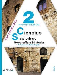 Libro GEOGRAFÍA E HISTORIA 2º EDUCACION SECUNDARIA CEUTA