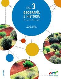 Libro GEOGRAFÍA E HISTORIA 3º ESO CANTABRIA