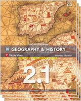 Libro GEOGRAPHY & HISTORY 2º BOOK 1,2 AND 3 + CD  ANDALUCÍA