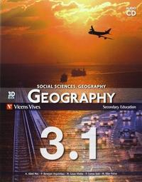 Libro GEOGRAPHY 3 BOOK 1, 2 AND 3 + CD