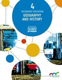 Libro GEOGRAPHY AND HISTORY 4, 4º ESO SEGUNDO CICLO MEC