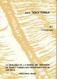 Libro GEOLOGIA DE LA REGION DEL SINFORME DE VERIN