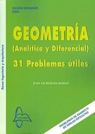Libro GEOMETRIA ANALITICA Y DIFERENCIAL: 31 PROBLEMAS UTILES