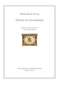 Libro GESTAS DE LOS SAJONES