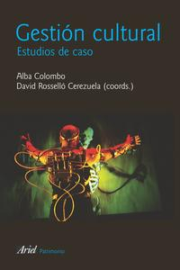 Libro GESTION CULTURAL: ESTUDIOS DE CASO