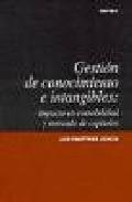 Libro GESTION DE CONOCIMIENTO E INTANGIBLES: IMPACTO EN CONTABILIDAD Y MERCADO DE CAPITALES