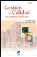 Libro GESTION DE LA CALIDAD DE LOS PROCESOS TURISTICOS