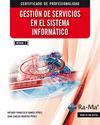 Libro GESTION DE SERVICIOS EN EL SISTEMA INFORMATICO