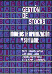 Libro GESTION DE STOCKS: MODELOS DE OPTIMIZACION Y SOFTWARE