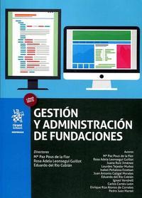 Libro GESTIÓN Y ADMINISTRACIÓN DE FUNDACIONES