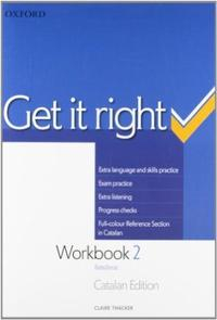 Libro GET IT RIGHT 2: WORKBOOK