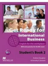 Libro GET READY INT BUSINESS 2 CLASS CD