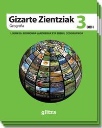 Libro GIZARTE ZIENTZIAK GEOGRAFIA ETA HISTORIA DBH 3