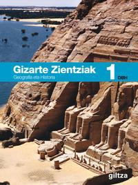 Libro GIZARTE ZIENTZIAK, GEOGRAFIA ETA HISTORIA 1
