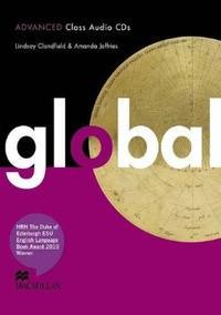Libro GLOBAL ADVANCED CLASS AUDIO CDS