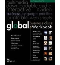 Libro GLOBAL BUSINESS CLASS EWORKBOOK INTERMEDIATE LEVEL MIKE HOGAN