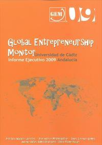 Libro GLOBAL ENTREPRENEURSHIP MONITOR: INFORME EJECUTIVO 2009