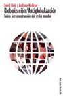 Libro GLOBALIZACION-ANTIGOBALIZACION: SOBRE LA RECONSTRUCCION DEL ORDEN MUNDIAL