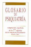 Libro GLOSARIO DE PSIQUIATRIA