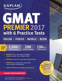 Libro GMAT PREMIER 2017 WITH 6 PRACTICE TESTS: ONLINE + BOOK + VIDEOS + MOBILE