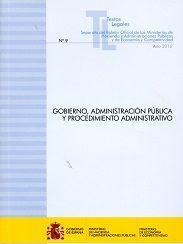 Libro GOBIERNO, ADMINISTRACION PUBLICA Y PROCEDIMIENTO ADMINSITRATIVO