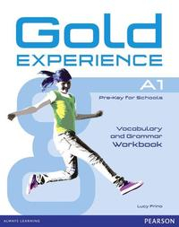Libro GOLD EXPERIENCE A1 GRAMMAR & VOCABULARY WB WITHOUT KEY