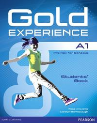 Libro GOLD EXPERIENCE A1 STUDENTS  BOOK WITH DVDROM