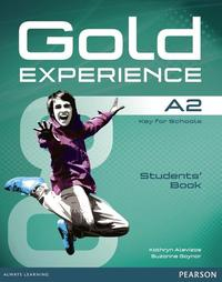 Libro GOLD EXPERIENCE A2 STUDENTS  BOOK WITH DVDROM