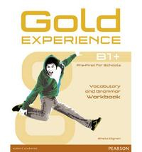 Libro GOLD EXPERIENCE B1+ WORKBOOK WITHOUT KEY