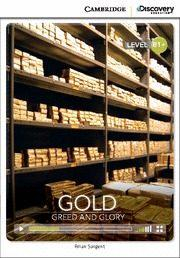 Libro GOLD: GREED AND GLORY INTERMEDIATE BOOK WITH ONLINE ACCESS