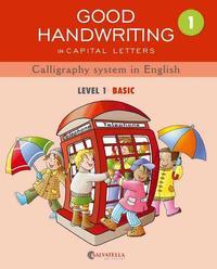 Libro GOOD HANDWRITING 1 CAPITAL LETTERS