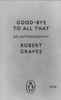 Libro GOODBYE TO ALL THAT