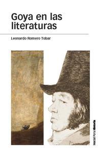 Libro GOYA EN LAS LITERATURAS