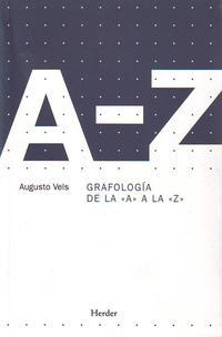 Libro GRAFOLOGIA DE LA A A LA Z