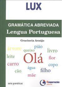 Libro GRAMATICA ABREVIADA LENGUA PORTUGUESA
