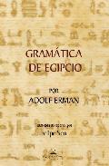 Libro GRAMATICA DE EGIPCIO