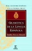 Libro GRAMATICA DE LA LENGUA ESPAÑOLA