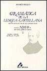 Libro GRAMATICA DE LENGUA CASTELLANA CON NOTAS DE R. J. CUERVO