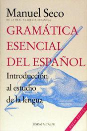 Libro GRAMATICA ESENCIAL DEL ESPAÑOL