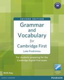 Libro GRAMMAR AND VOCABULARY FOR FCE. WITH KEY