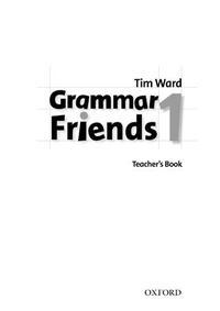 Libro GRAMMAR FRIENDS 1 TEACHER S BOOK
