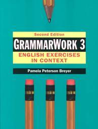 Libro GRAMMARWORK 3: ENGLISH EXERCISES IN CONTEXT