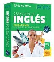 Libro GRAN CURSO PONS INGLES