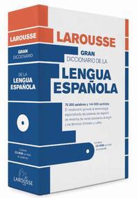 Libro GRAN DICCIONARIO DE LA LENGUA ESPAÑOLA