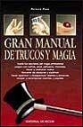Libro GRAN MANUAL DE TRUCOS Y MAGIA
