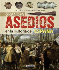 Libro GRANDES ASEDIOS HISTORIA ESPAÑA