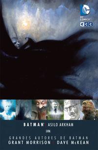 Libro GRANDES AUTORES DE BATMAN - GRANT MORRISON Y DAVE MCKEAN: ARKHAM ASYLUM