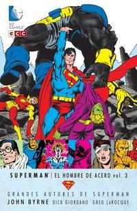 Libro GRANDES AUTORES DE SUPERMAN: JOHN BYRNE - SUPERMAN: EL HOMBRE ACE RO VOL. 3