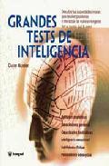 Libro GRANDES TESTS DE INTELIGENCIA
