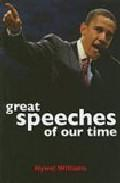 Libro GREAT SPEECHES OF OUR TIME